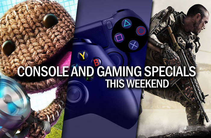 Console and gaming specials this weekend
