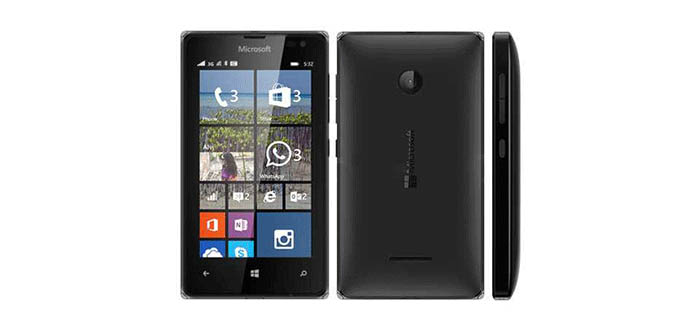 Lumia 532 black