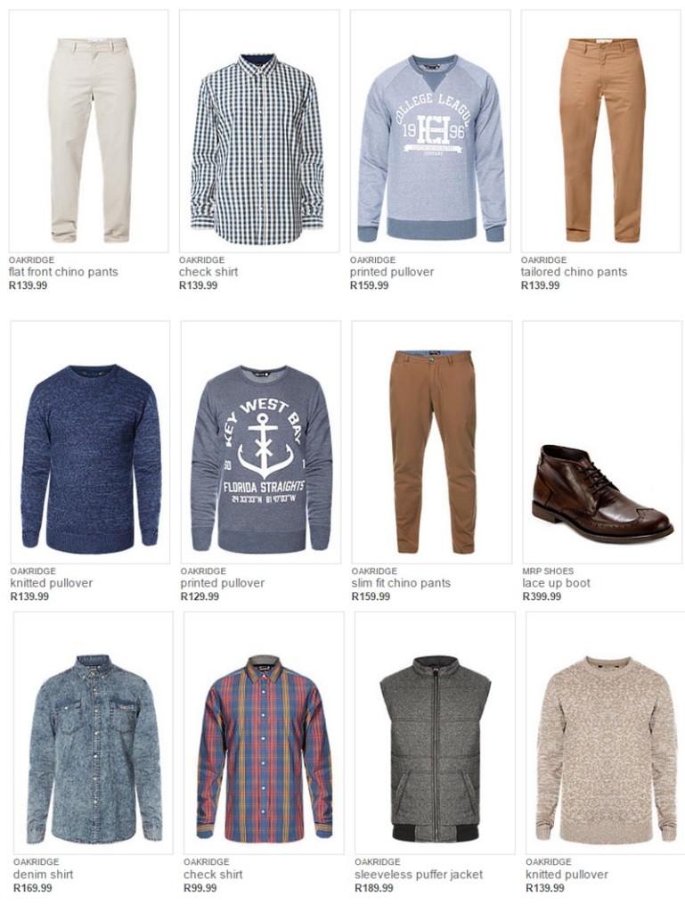 MRP Fashion range