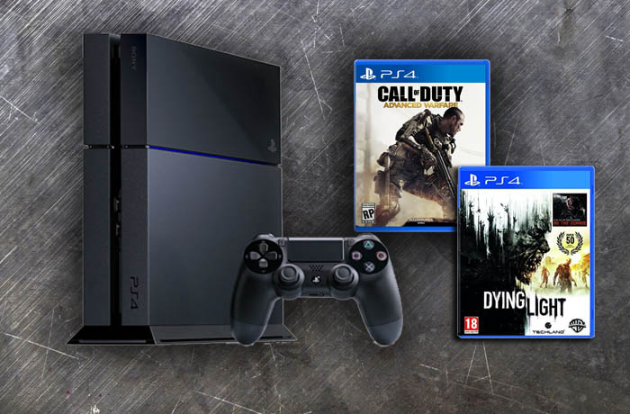 PS4 Dying Light Call of Duty Advanced Warfare