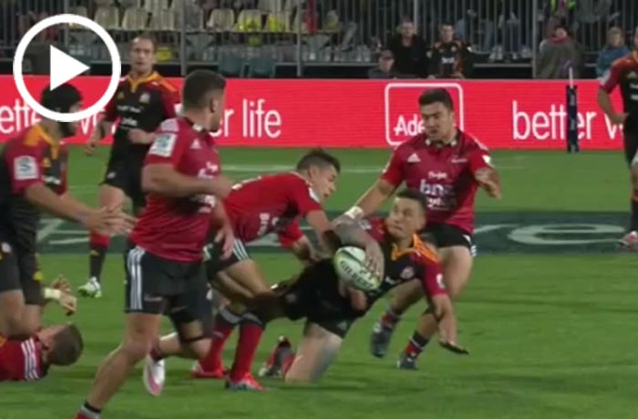 Sonny Bill Williams vs Crusaders