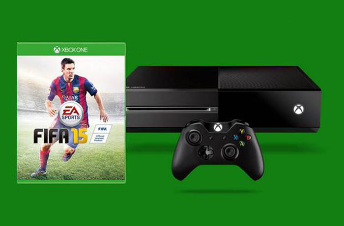 Xbox One and Fifa 15 header