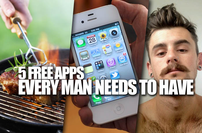 5 free apps every man needs to have