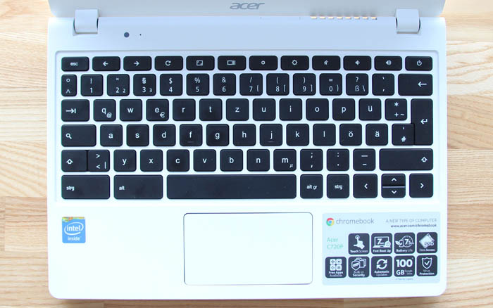 Acer Chromebook C720P picture 5