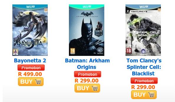 Animeworx Wii U game sale