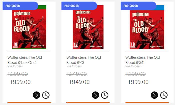CNA Wolfenstein The Old Blood special