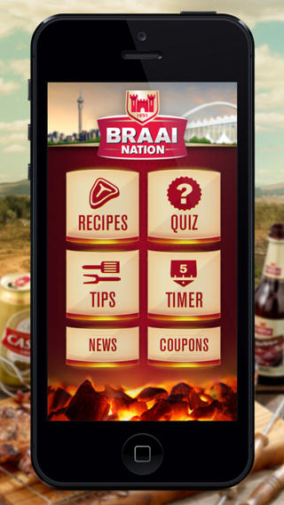 Castle Lager Braai Nation app