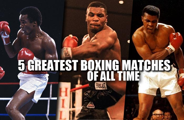 Greatest boxing matches of all time
