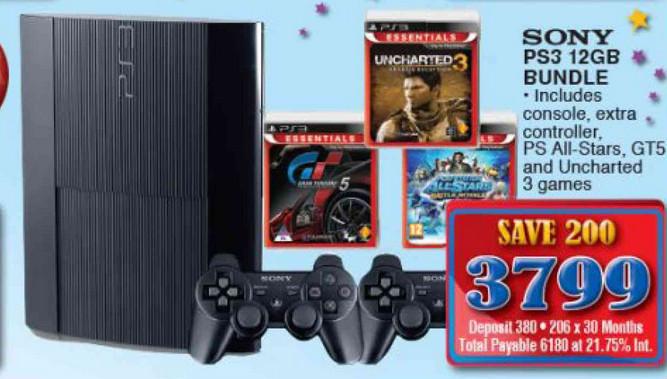 OK PS3 console bundle