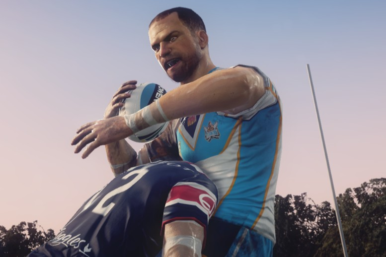 Rugby League Live 3 screenshot header