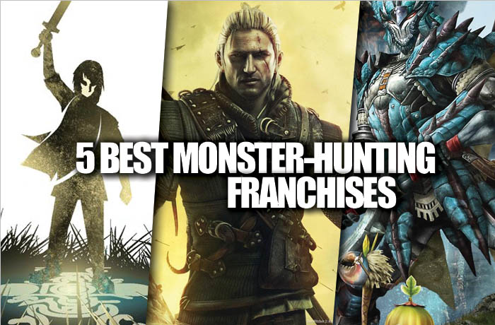monster hunting franchises
