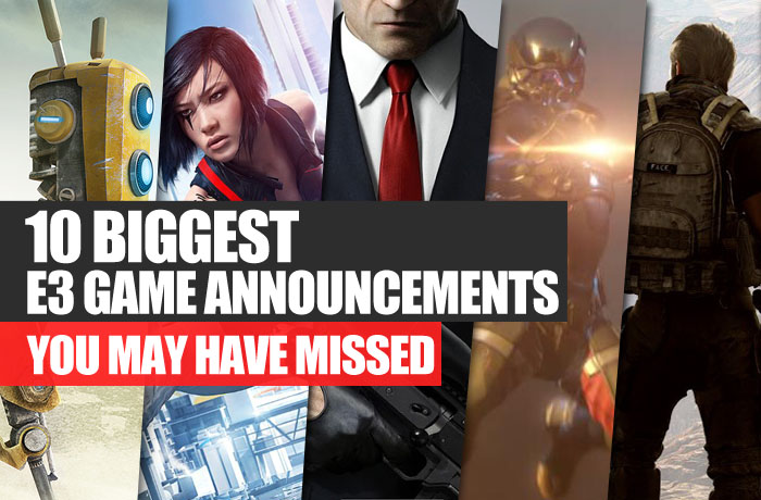 10 Biggest E3 game announcements
