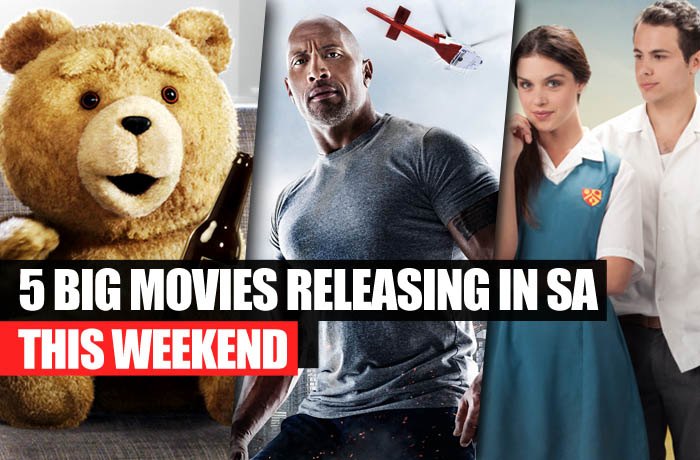 5 big movies releasing in SA this weekend