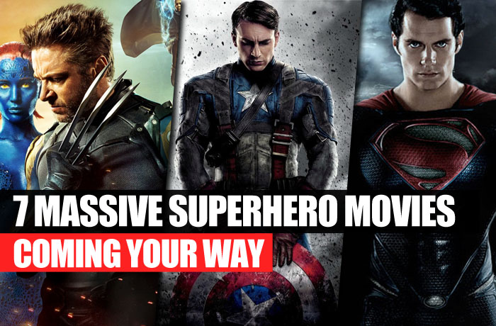 7 superhero movies coming your way