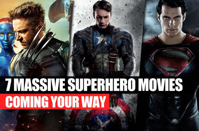 7 superhero movies coming your way