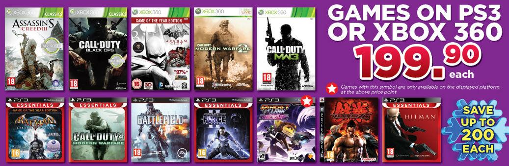 BT Games specials 3