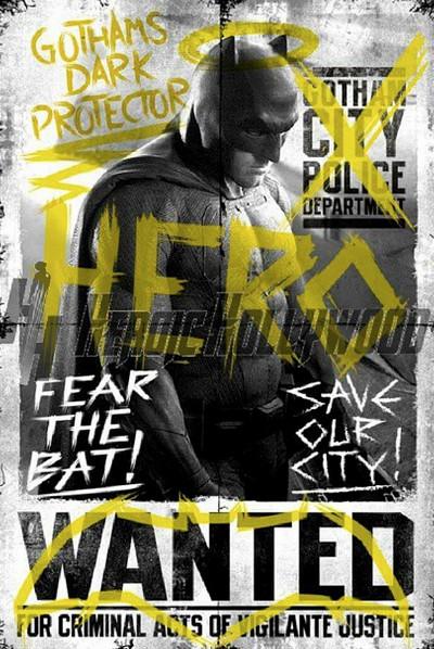Batman promo poster