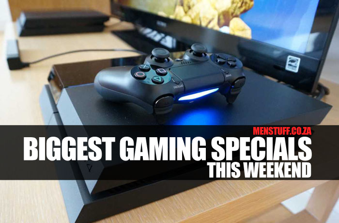 Biggest gaming specials this weekend