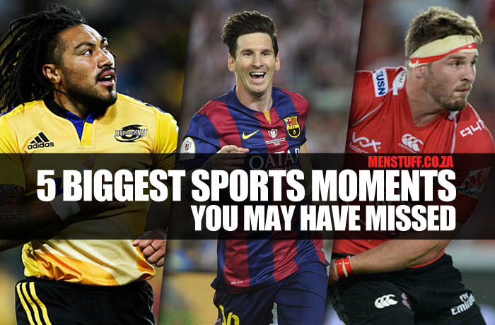 Biggest sports moments you may have missed