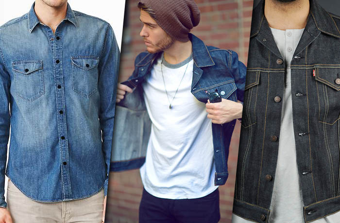 Denim header