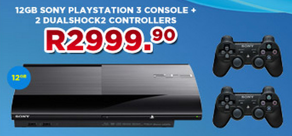PS3 slim special from BT Games