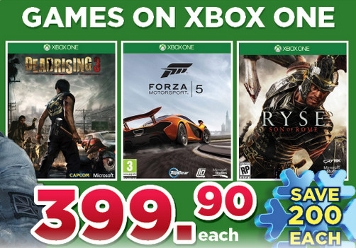 Xbox One BT Games specials