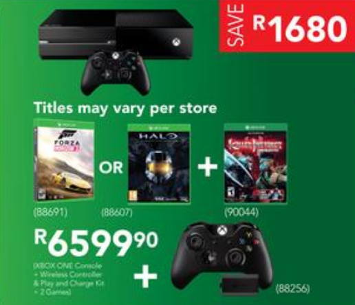 Xbox One bundle from Incredible Connection