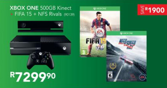 Xbox one bundle from Incredible