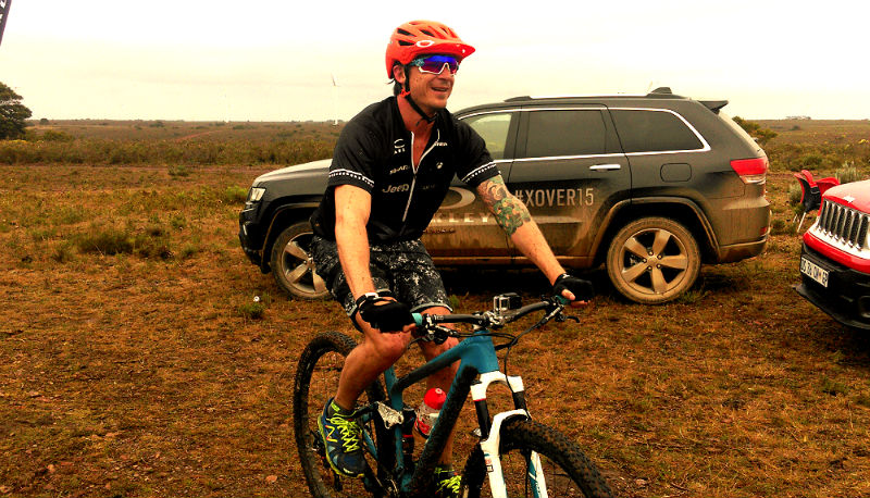 Dale Steyn recently competed in the Oakley X-Over Challenge.