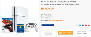 PS4 and god of war bundle Dion Wired