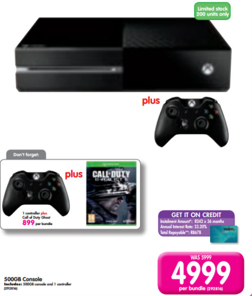Xbox One special from Makro