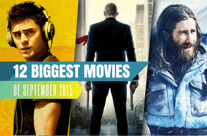 12 Biggest movies of Sep 2015