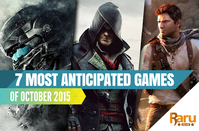 7 most anticipated games of October 2015
