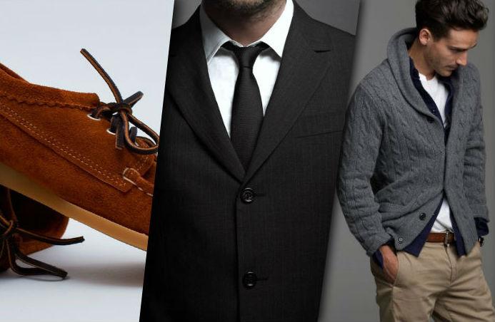 Mens fashion header