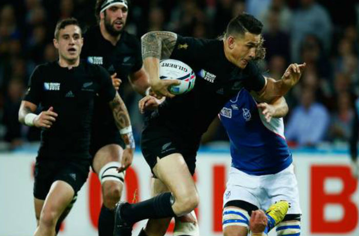 Sonny Bill Williams All Blacks