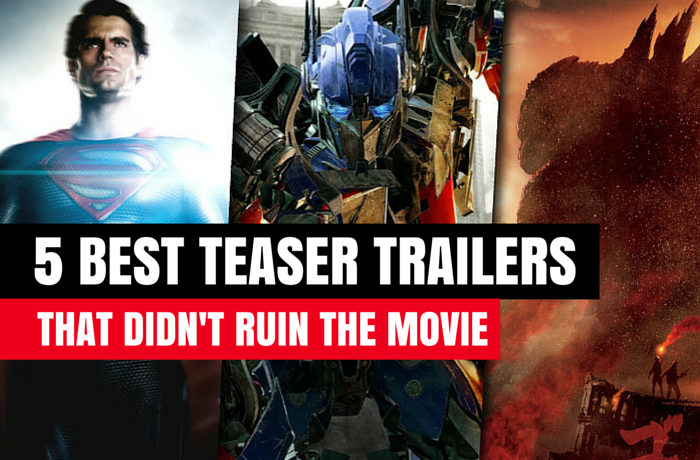 5 best teaser trailers