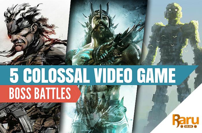 5 colossal video game boss battles header