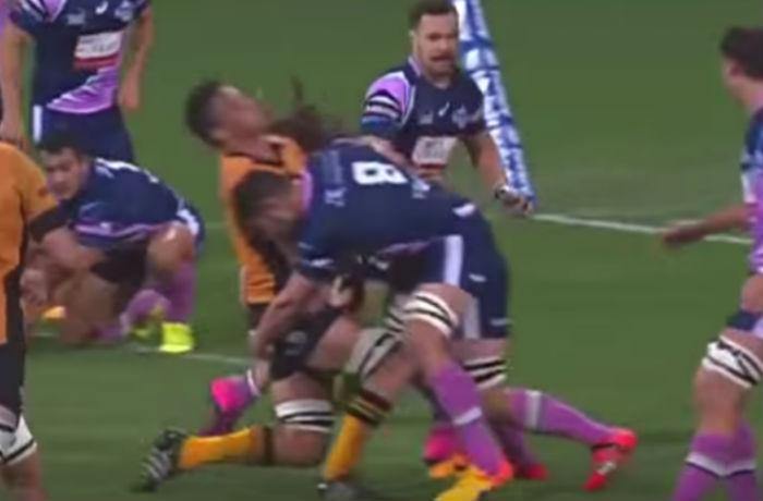 Colby Faingaa tackle