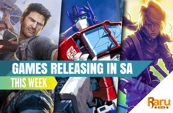 Games releasing in SA this week 5 Oct