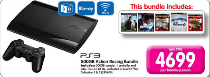 PS3 bundle games Makro