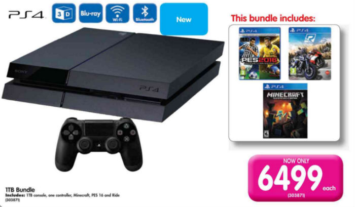 PS4 console Makro