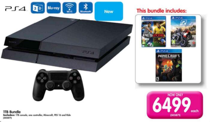 PS4 console Makro
