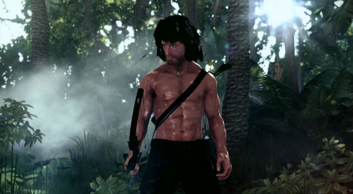 Rambo video game