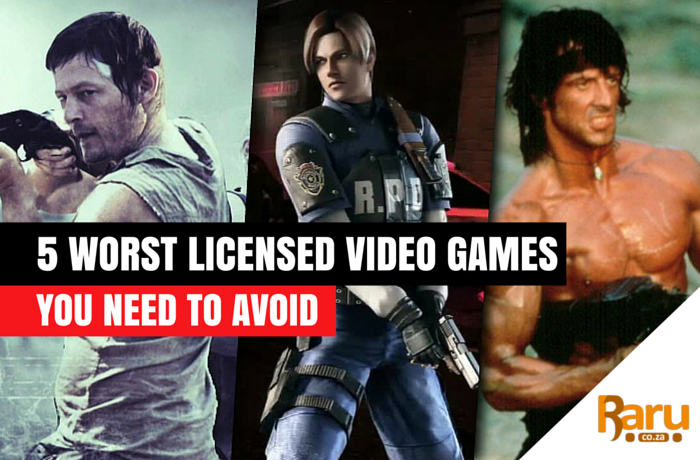 Worst licensed video games