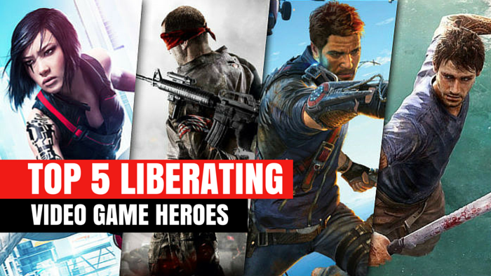 5 liberating video game heroes