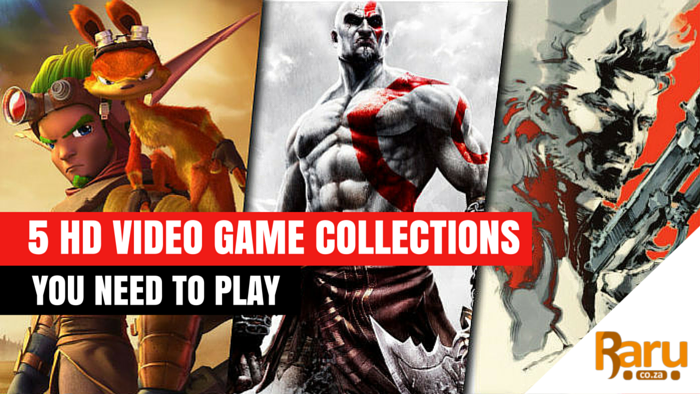 HD video game collections