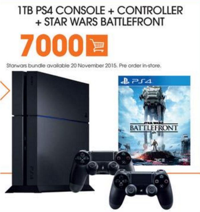 PS4 Star Wars bundle Dion Wired
