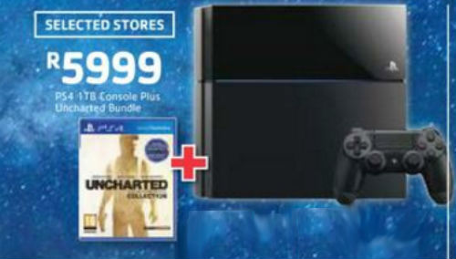 Pick n Pay PS4 cnsole specials