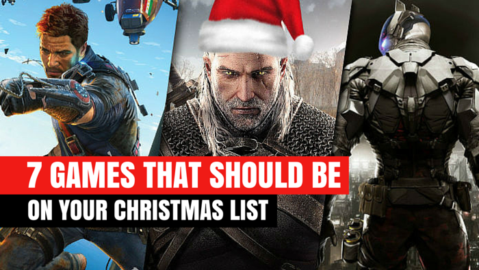 7 games that should be on your christmas list
