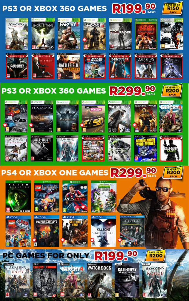 BT Games gaming specials xmas